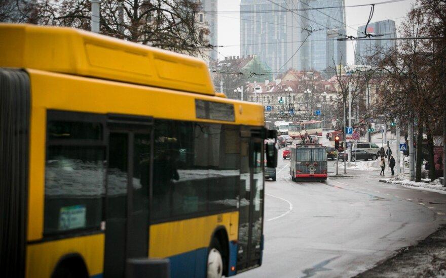 На следующей неделе – изменения в расписании общественного транспорта в Вильнюсе