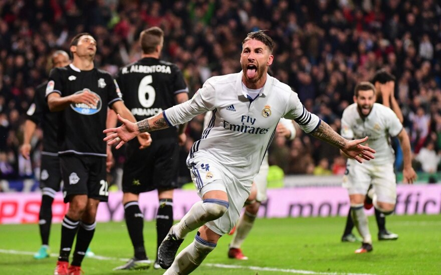 Madrido Real, Sergio Ramosas