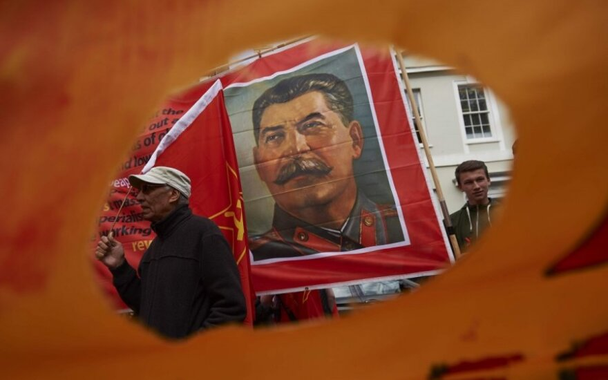 """""""Яблоко"""" просит убрать портреты Сталина с улиц Новосибирска"""