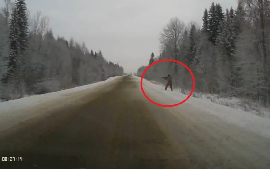 Strzelec na drodze