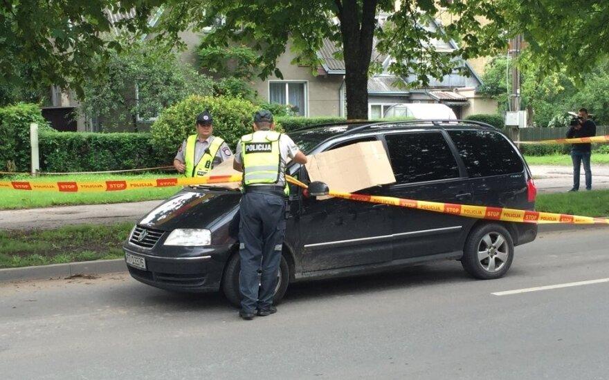 В Каунасе с собой покончил водитель VW Sharan