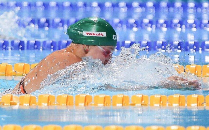 Мейлутите завоевала еще две медали молодежного ЧЕ по плаванию