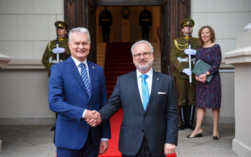 Президенты Литвы и Латвии разошлись во мнениях по БелАЭС, но обещали разрешить спор по морской границе