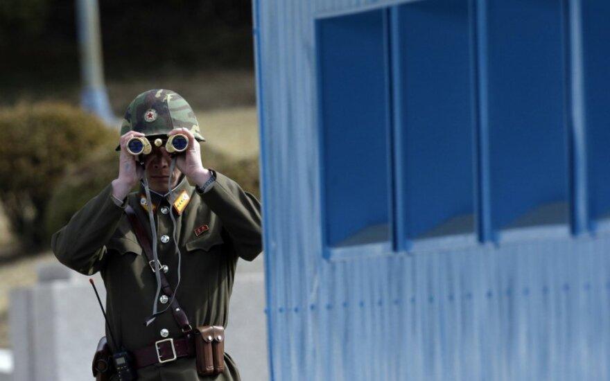 На границе между КНДР и Южной Кореей произошла перестрелка