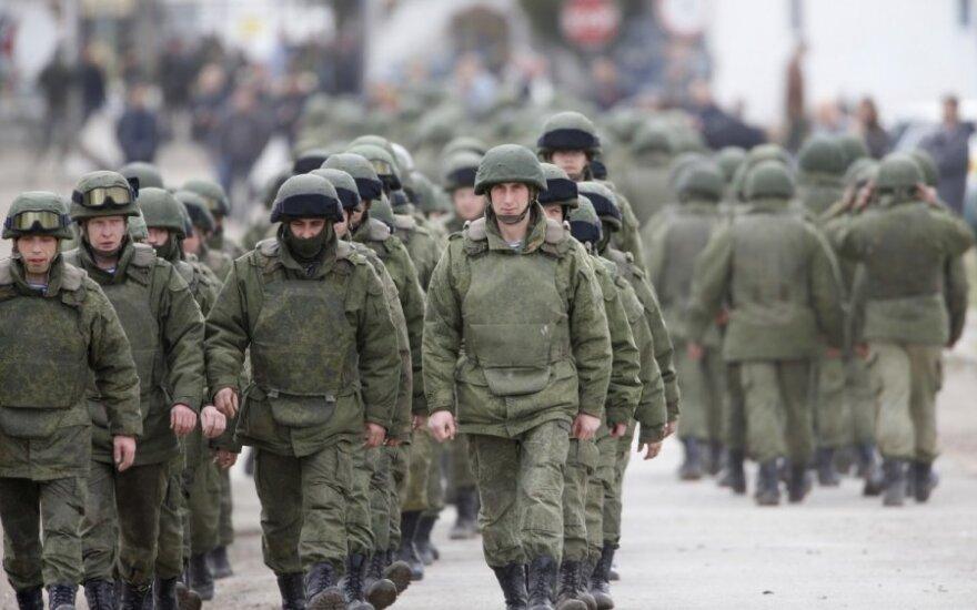 Российские войска из Крыма вторглись в Херсонскую область