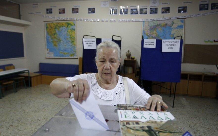В Греции проходят досрочные выборы в парламент