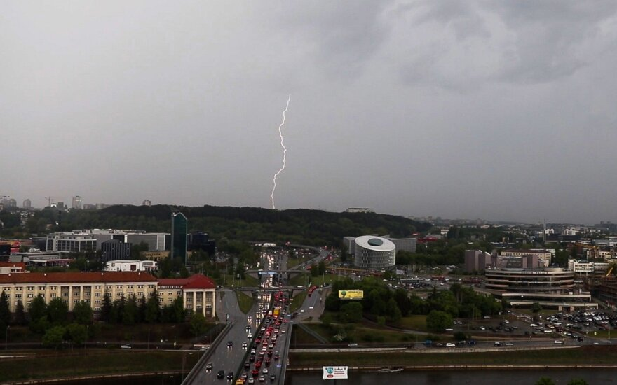 В выходные в Литве прогнозируют теплую погоду