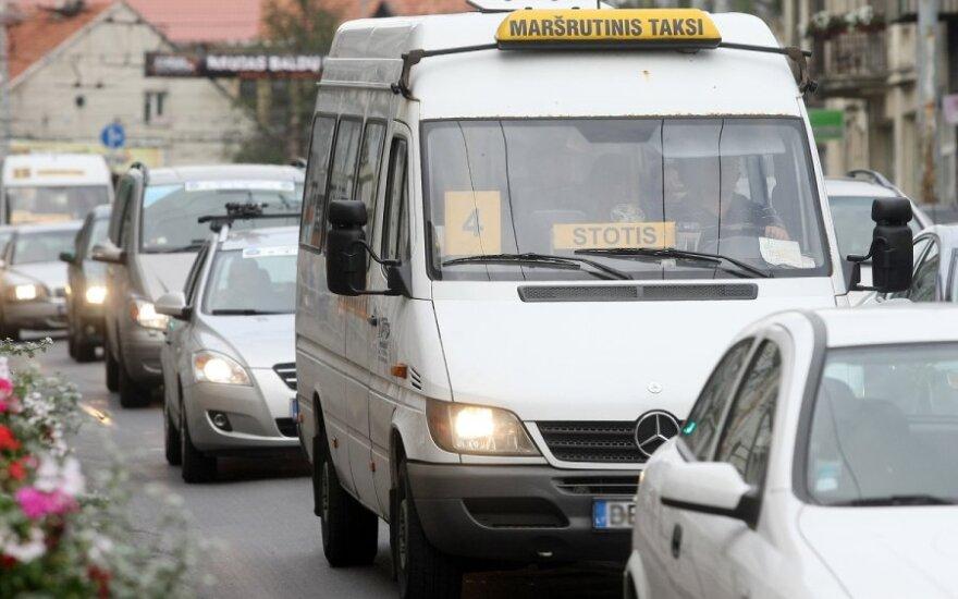 Микроавтобусы будут ездить только по окраинам Вильнюса