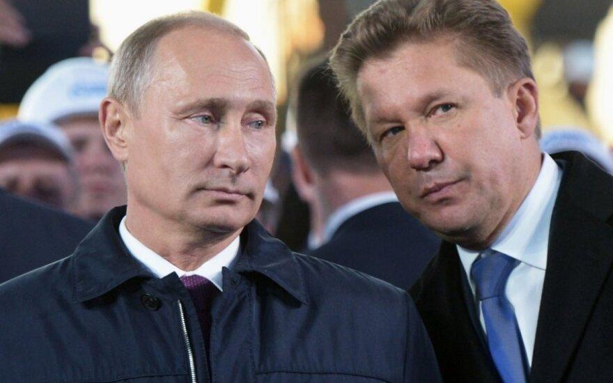 Vladimiras Putinas, Aleksejus Mileris