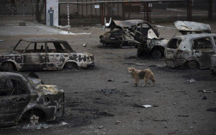 Глава МИД Литвы: ответственность за трагедию в Мариуполе должна взять на себя Россия