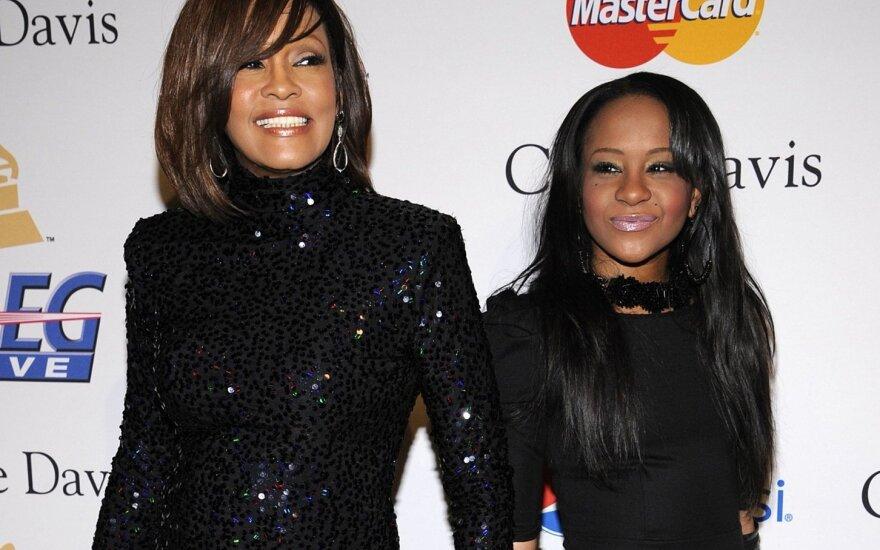 Whitney Houston ir Bobbi Kristina Brown