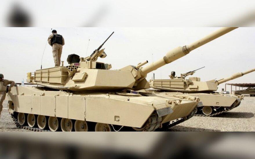 В Литве впервые звучали залпы танков M1A2 Abrams