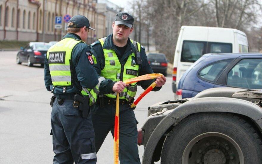 Ładunek wybuchowy w autobusie z Białorusi