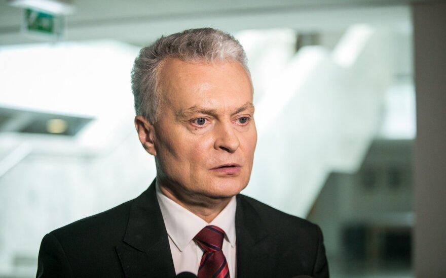 Науседа попросил Генсекретаря НАТО усилить мощности воздушной обороны Литвы