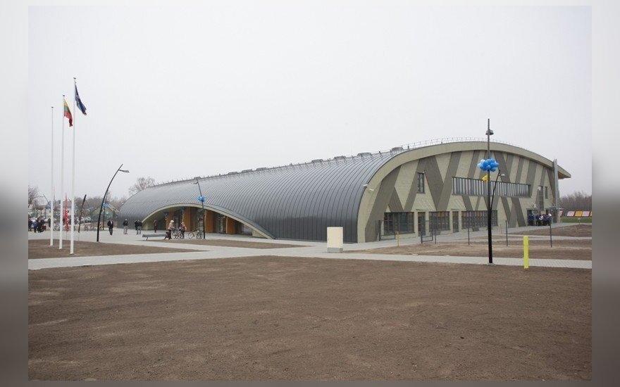 Naujoji Palangos sporto arena (A. Prialgausko nuotr.)