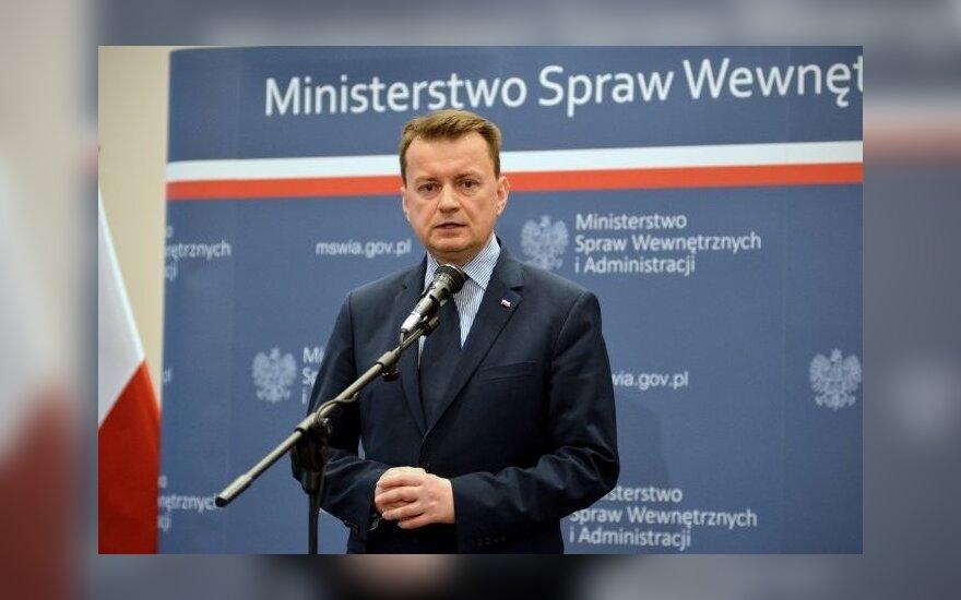 Mariusz Błaszczak. Foto: MSW RP