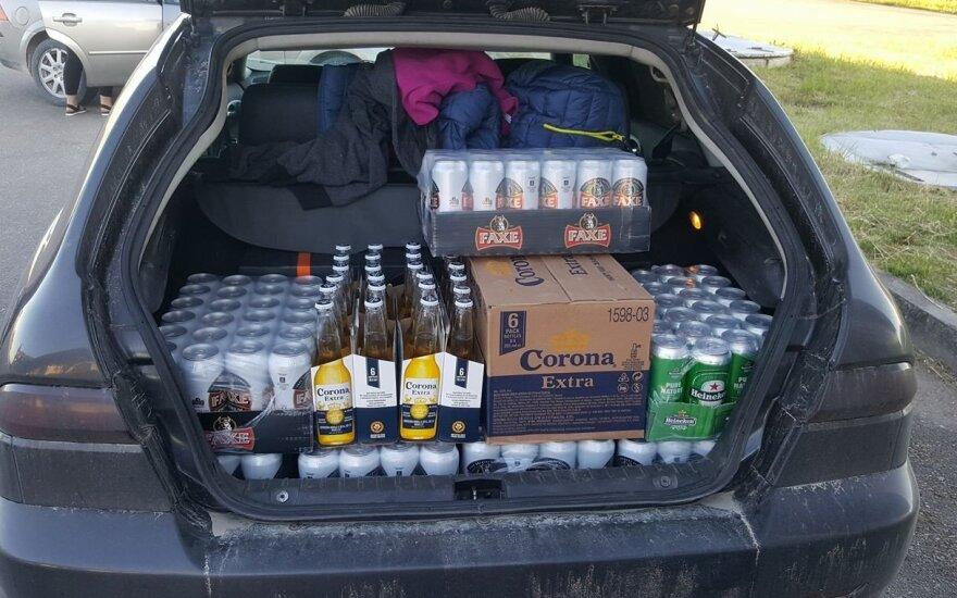 Прогнозы сбываются: литовцы уже отправились на поиски дешевого алкоголя