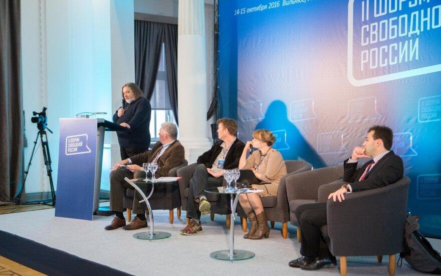 Участники Форума свободной России приняли резолюцию с осуждением аннексии Крыма