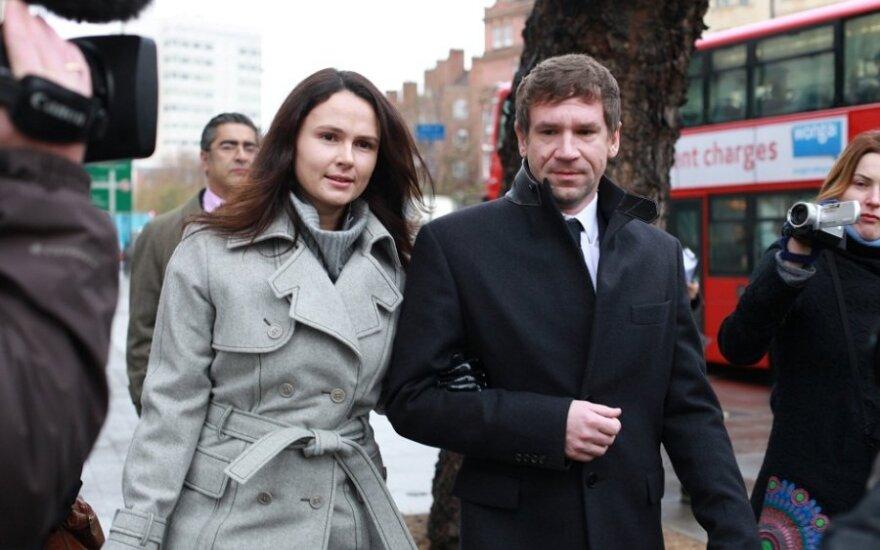 Vladimiras Antonovas su žmona Olga Jampolskaya