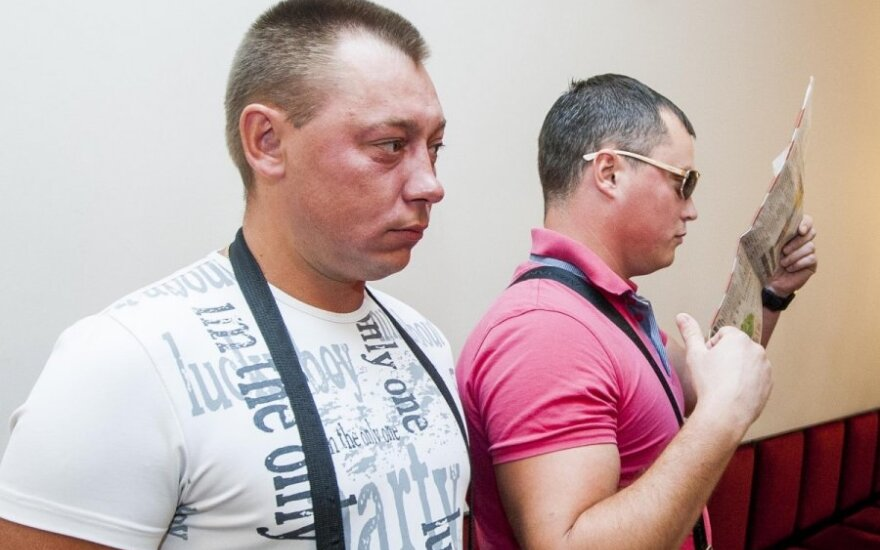Olegas Cyronokas ir Aleksandras Senkevičius