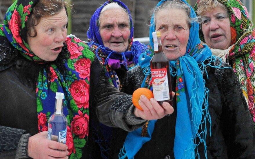 В Беларуси потребление алкоголя выше, чем в Литве и России