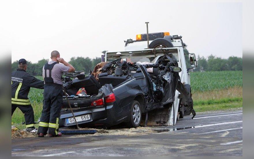 За первое полугодие на дорогах Литвы погиб 121 человек