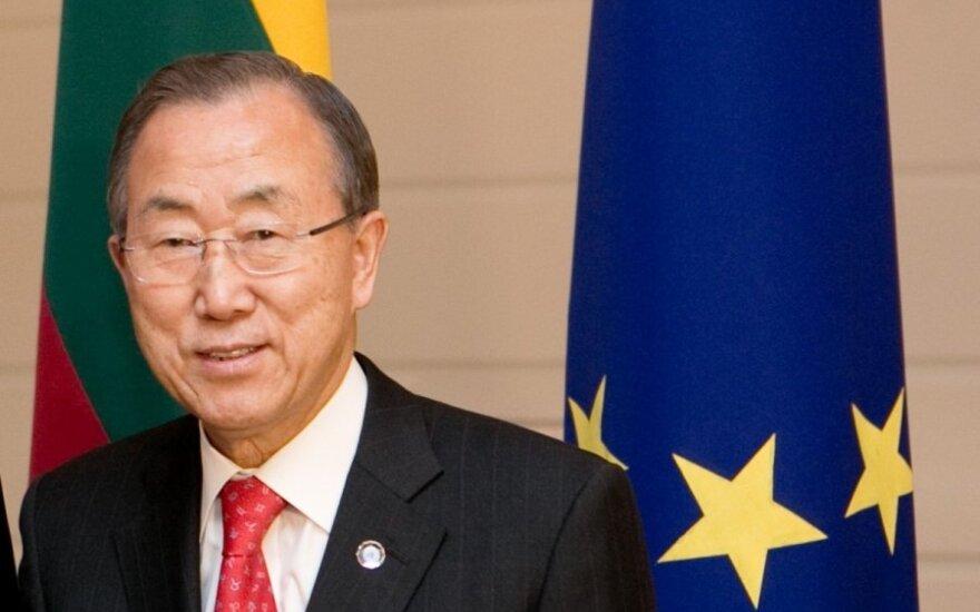 Пан Ги Мун предложил свою помощь в разрешении кризиса на Украине