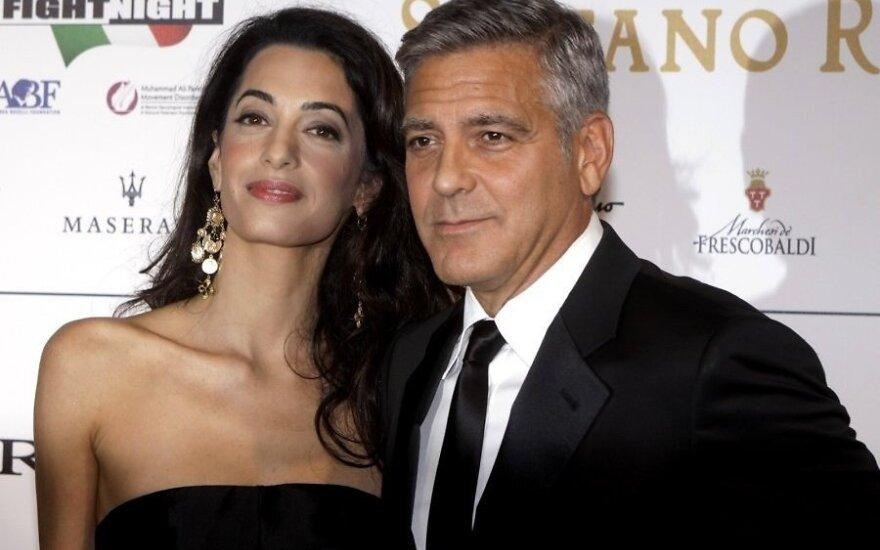 Джордж Клуни и Амаль Аламуддин поженятся дважды