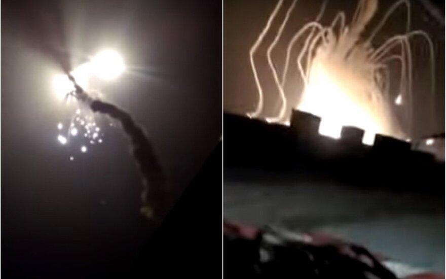 В России упала ракета С-300