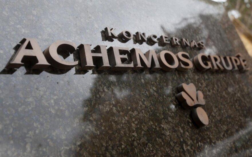 Achemos grupe в прошлом году выплатила 20 млн евро дивидендов