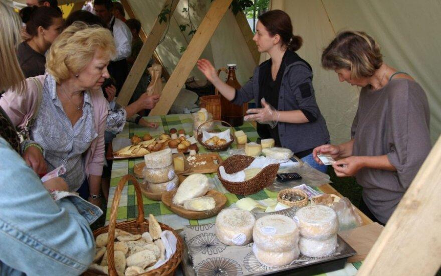 В Друскининкай проходит сырный фестиваль