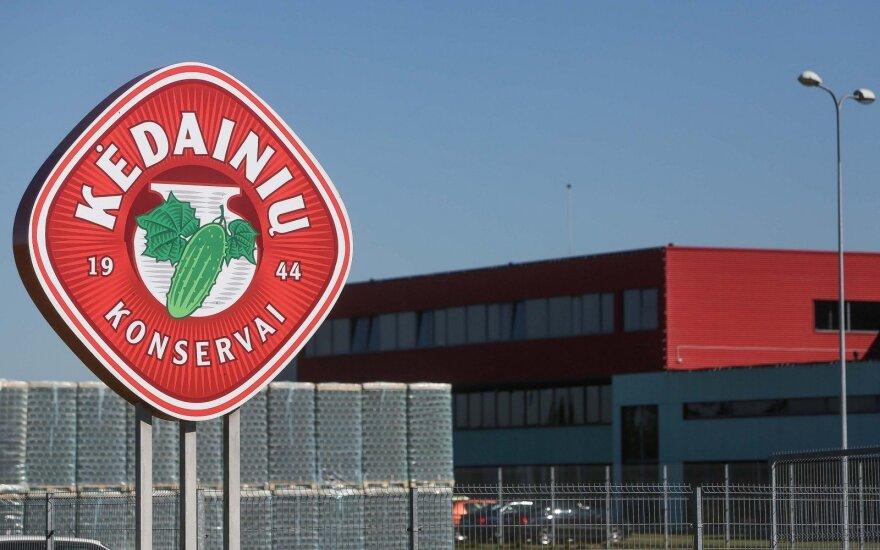 Во время пожара на Кедайняйской консервной фабрике были эвакуированы работники