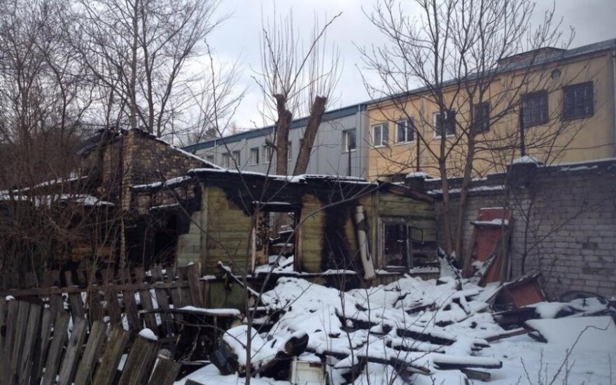 Spłonął dom