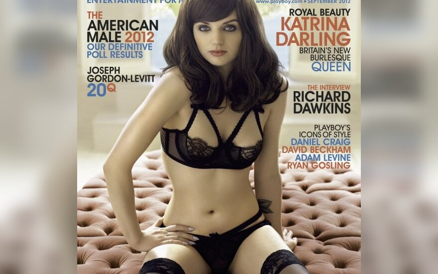 "Katrina Darling ant ""Playboy"" viršelio"