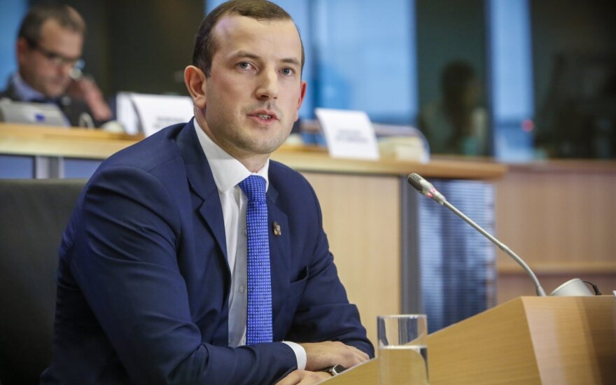 Синкявичюс обещает инициировать план очистки Балтийского моря