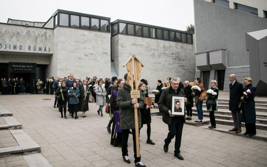Vytauto Šerėno laidotuvės