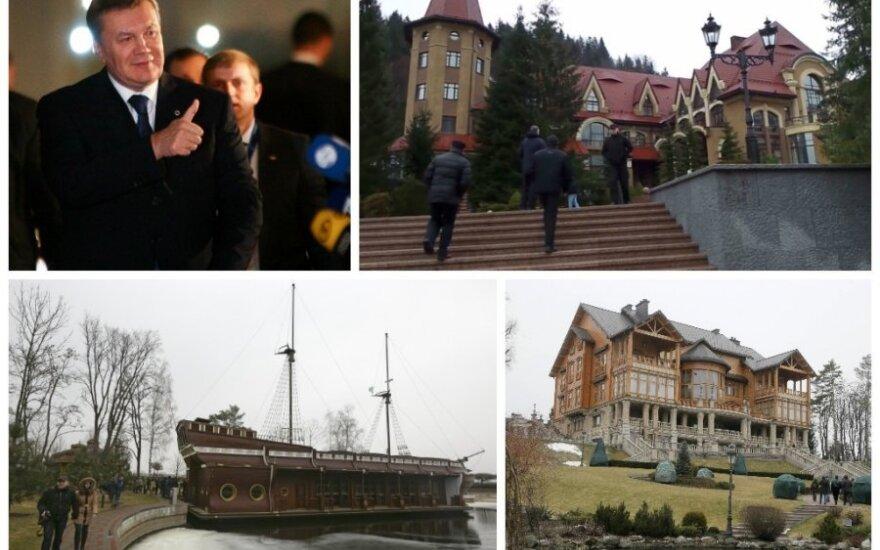 Viktoro Janukovyčiaus turtai (DELFI, AP/Scanpix, Reuters/Scanpix nuotr.)