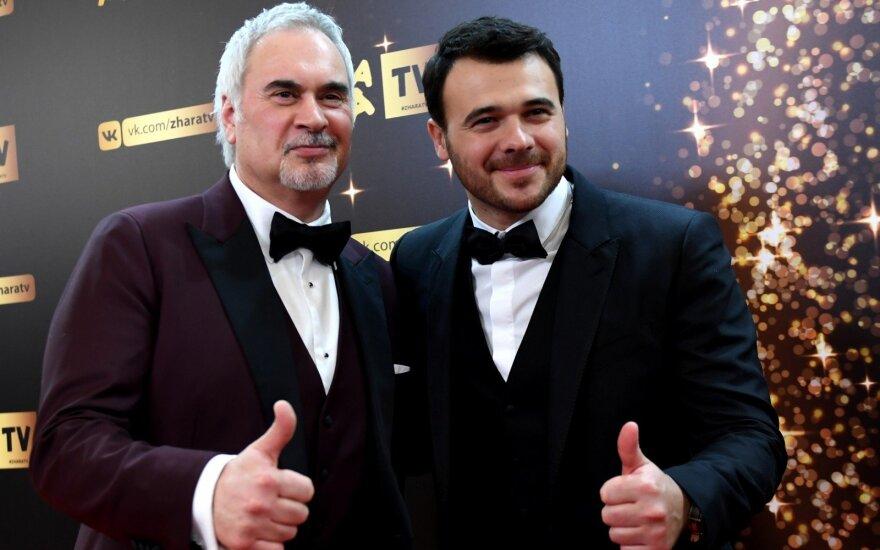 Valerijus Meladze (kairėje), Eminas Agalarovas