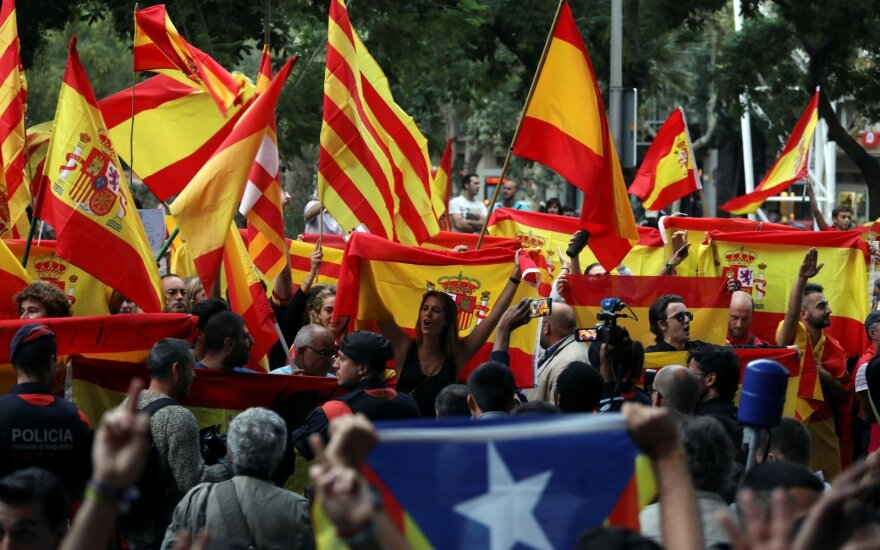Линкявичюс: сравнивать Каталонию и страны Балтии некорректно