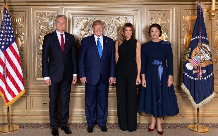 Президент Науседа пригласил Трампа в Литву