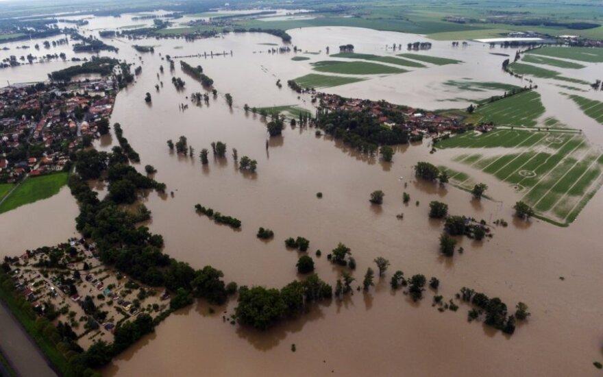 Potvynis Čekijoje