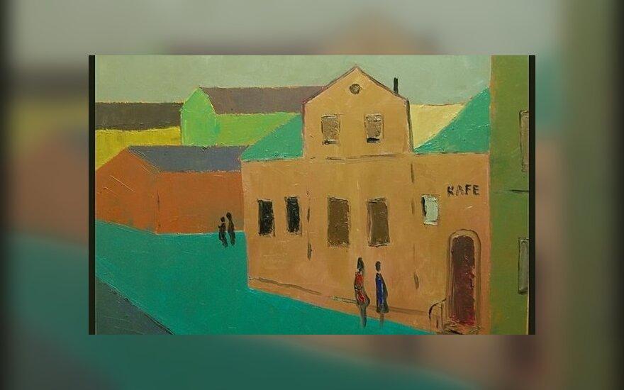 В Вильнюсе - выставка живописи Фикрата Салимова