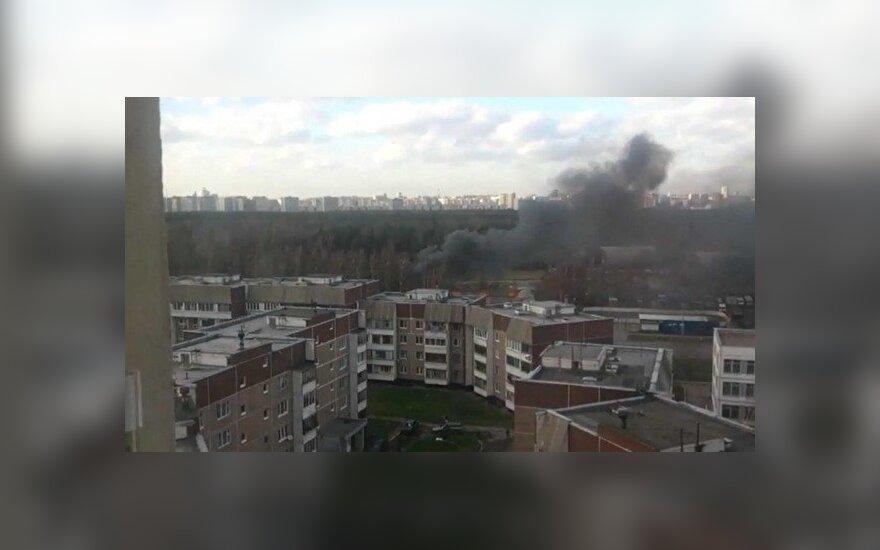 Maskvoje nukrito sraigtasparnis