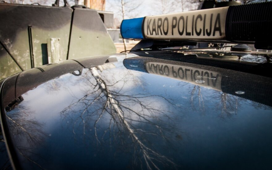 С пятницы в литовских городах будет дежурить военная полиция