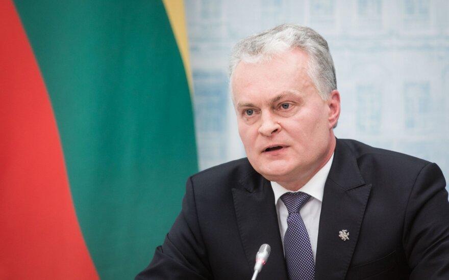 Науседа: предлагаемые Литвой альтернативы по газу помогают Беларуси в переговорах с РФ