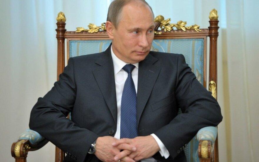 Путин телеграммой поздравил Лукашенко с днем рождения