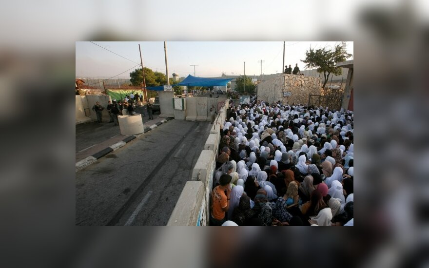 Израиль выпустил из тюрьмы 20 палестинок