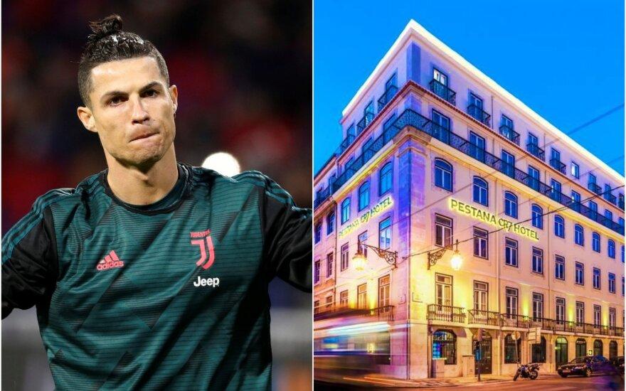 Cristiano Ronaldo ir jo viešbutis Pestana CR7