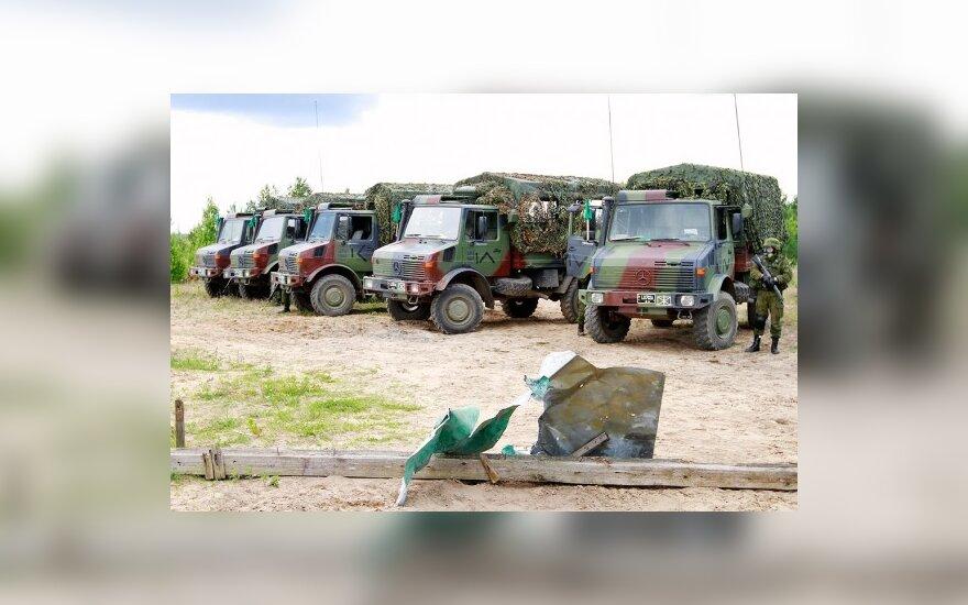 Базовые военные учения в Литве должны длиться 50-90 дней