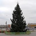 Kalėdų eglutė Mažeikiuose